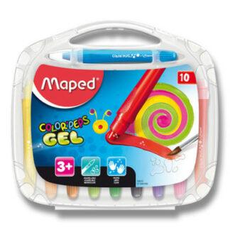 Gélové pastely Maped Color'Peps Gel - 10 farieb