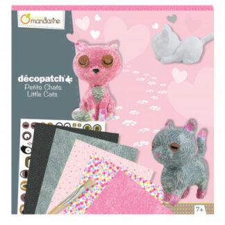 Veľká kreatívna súprava - decoupage - mačky