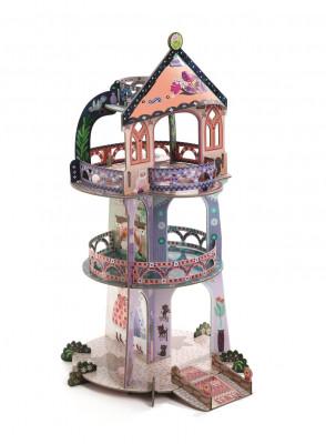 3D kartónová skladačka – Divotvorná veža