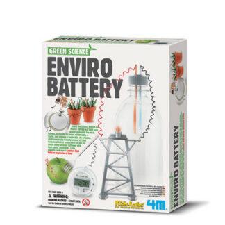 Zelená veda - Eco batéria