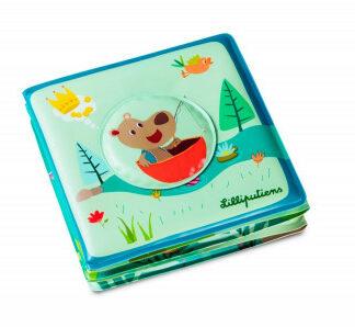 Lilliputiens – medveď César na rybách – kúzelná knižka do vody