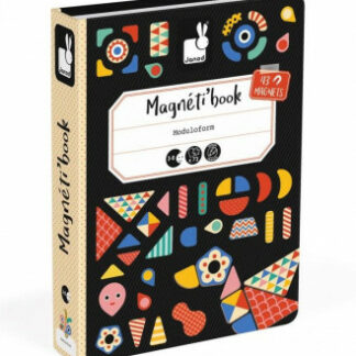 Magnetická kniha - skladačka Moduloform Tvary