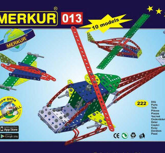 Merkur - Vrtuľník - 222 ks
