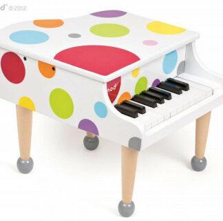 Drevený klavír pre deti veľký - Confetti Grand Piano