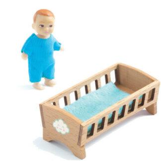 Domček pre bábiky – bábätko Sasha