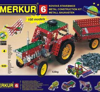 Merkur - Veľký set 6 - 940 ks