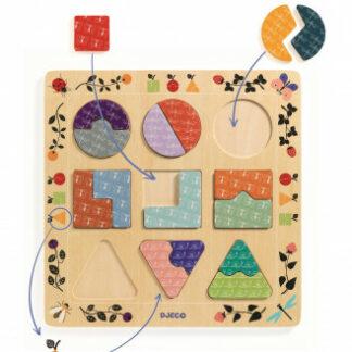 Puzzle – tvary a vzory