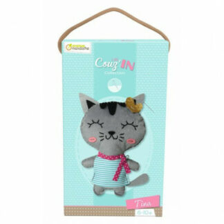 detské šitie- mačička Tina