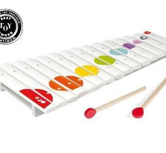 Veľký drevený xylofón pre deti Confetti