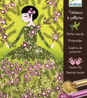 Výtvarná hra Kúzelné trblietavé šaty
