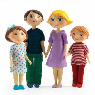 Domček pre bábiky – rodina Gasparda a Romy