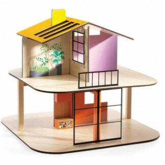 Domček pre bábiky – farebný domček