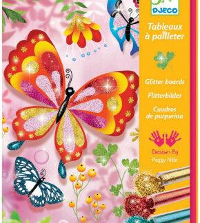 Výtvarná hra Trblietavé motýle