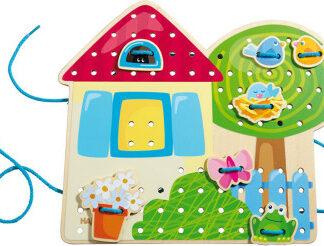 Grétin záhradný domček- prešívaný