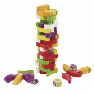 Zeleninová jenga – detská hra