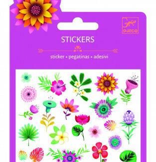 Minisamolepky – tropické kvetiny