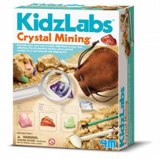Dobývanie kryštalických minerálov