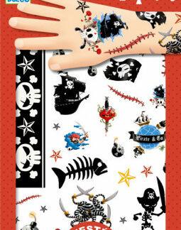 Tetovanie – piráti
