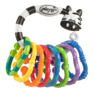 Playgro Zebra s krúžkami