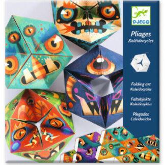 Kaleidocykly – papierová skladačka – monštrá