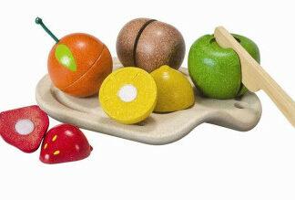 Krájanie na doštičke – súprava s ovocím