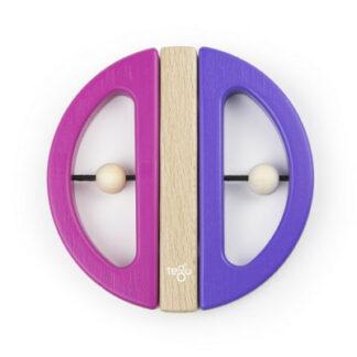 Magnetická hračka TEGU - Swivel Bug - Pink & Purple