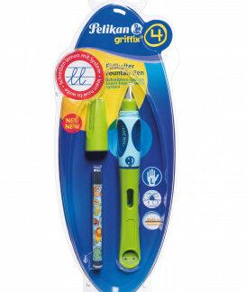 Bombičkové pero Griffix 4 pre ľavákov - zelené