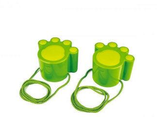 Mačacie labky zelené- hračka na piesok