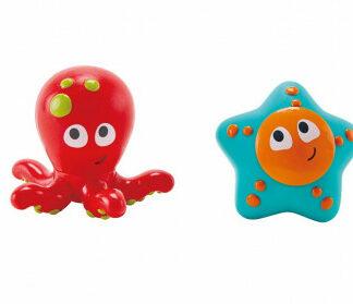 Striekacia chobotnica s hviezdicou- hračka do vody
