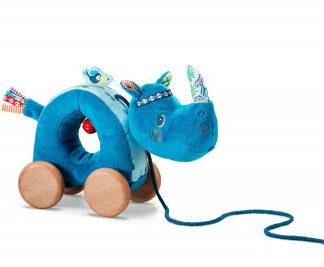 Lilliputiens – nosorožec Marius – ťahacia hračka