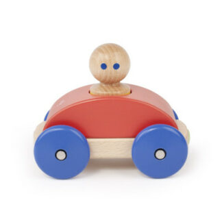 Magnetické autíčko TEGU - Poppy & Blue Racer