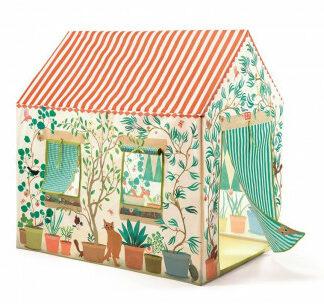 Detský textilný domček