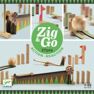 Dominová dráha Zig & Go – 27 ks