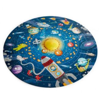 Detské puzzle – Slnečná sústava LED