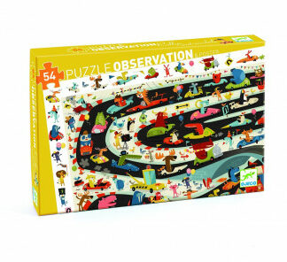 Puzzle – automobilové preteky – 54 ks