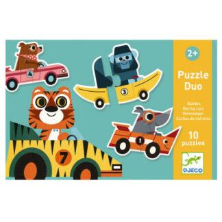 Puzzle Duo – pretekári v autách