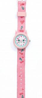 Detské hodinky s mačičkou