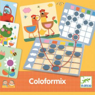 Coloformix – rozpoznávanie tvarov a farieb