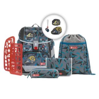 Školská aktovka/ruksak 2V1 pre prváčikov – 6-dielny set