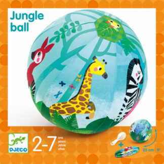 Nafukovacia lopta – Džungľa – 23 cm