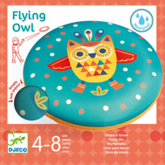 Frisbee – lietajúci tanier – Sova