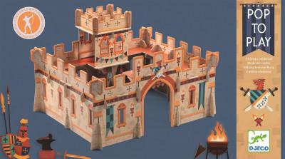 3D kartónová skladačka – Stredoveký hrad