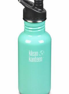 Nerezová fľaša Klean Kanteen Classic w/Sport Cap 3.0 - sea crest 532 ml