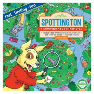 Spoločenská postrehová hra – Spottington