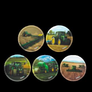 Ergobag Kletties - set polnohospodárske stroje
