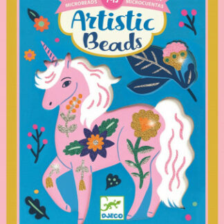 Umelecké koráliky – kvetinové zvieratá