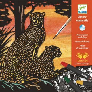 Akvarelový ateliér – divoké zvieratá