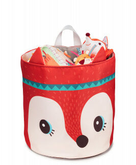 Lilliputiens – košík na hračky – líška Alice